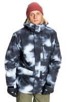 Quiksilver Mission Printed Jacket - Black Particul