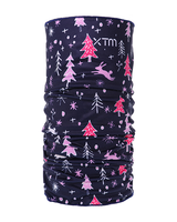 XTM Montage Kids Neck Tube - Navy Forest