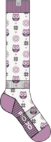 Rojo Snow Owl Kids Sock