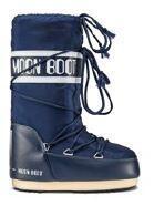 Moon Boot Nylon Kids Snow Boot - Blue