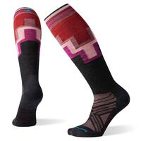 Smartwool PHD Ultra Light Pattern Wmns Ski Sock - Charcoal