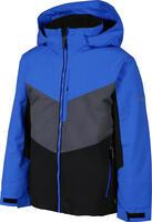 Karbon Pluto Kids Jacket - Macaw Blue/Black/Crater Grey