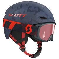 Scott Keeper 2 Kids Helmet + Witty Goggle - Blue Nights