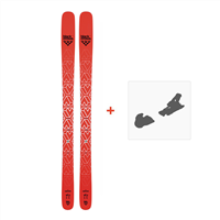 Black Crows Camox Ski + Warden 13 Binding