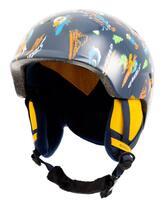 Quiksilver Slush Kids Helmet - Insignia Blue Snow Aloha