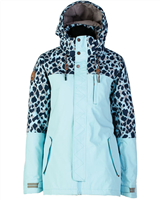 Rojo Snowlife Wmns Jacket - Crystal Blue