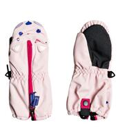 Roxy Snow S Up Kids Mitt - Powder Pink