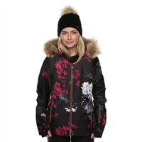 XTM St Moritz Wmns Jacket - Black Floral