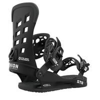 Union STR Snowboard Binding - Black