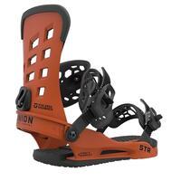 Union STR Snowboard Binding - Burnt Orange