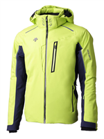 Descente Terro Ski Jacket - Lime/Dark Navy