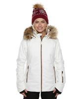 XTM St Moritz Wmns Jacket - White