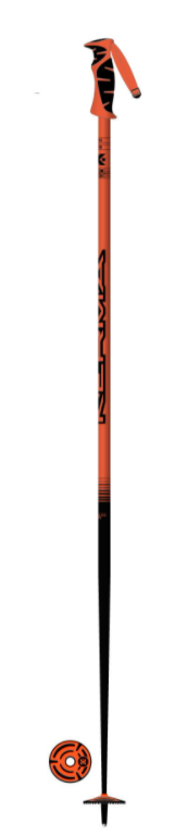 Kerma Vector Ski Pole - Orange