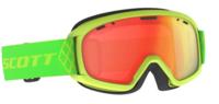 Scott Witty Chrome Kids Goggle - High Viz Green Enhancer Red Chrome