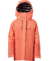 Rojo Wren Girls Jacket Living Coral