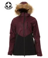 XTM Ayla Plus Wmns Jacket - Shiraz/Black