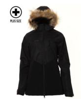 XTM Ayla Plus Wmns Jacket - Black/Shiraz