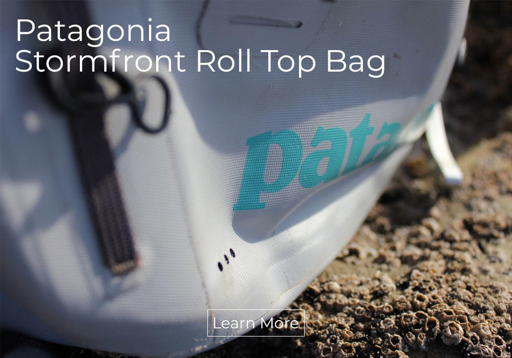 Patagonia Stormfront Roll Top Bag