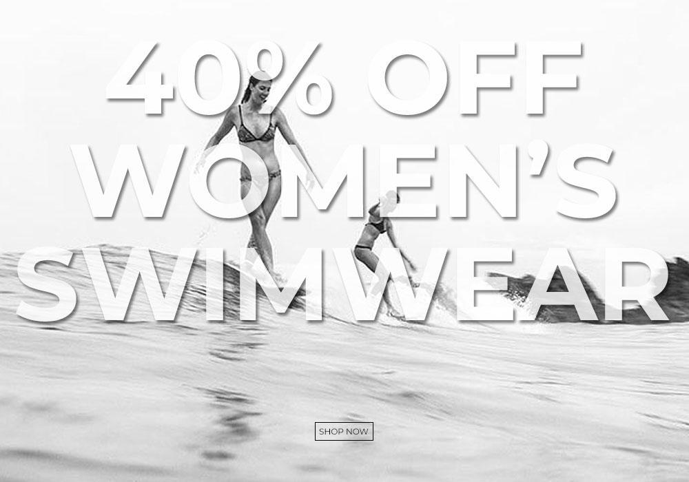 40% off Women's Swimwear