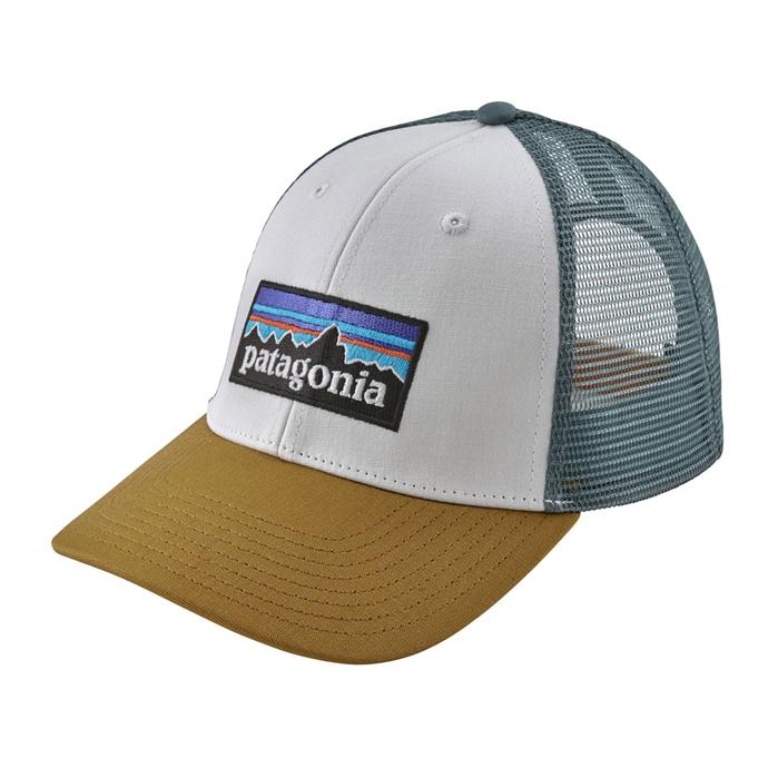PATAGONIA P-6 Logo LoPro Trucker Hat - WHIK