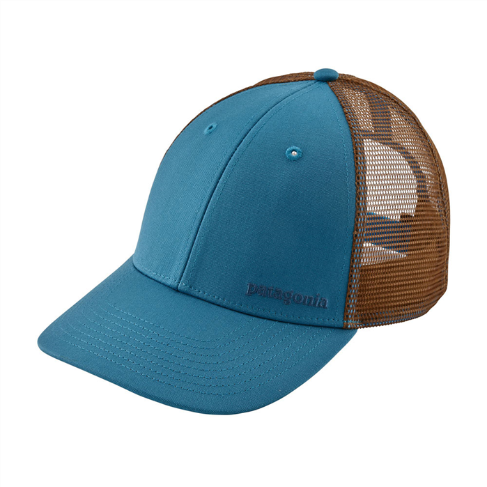 PATAGONIA Small Text Logo LoPro Trucker Hat - LIBU