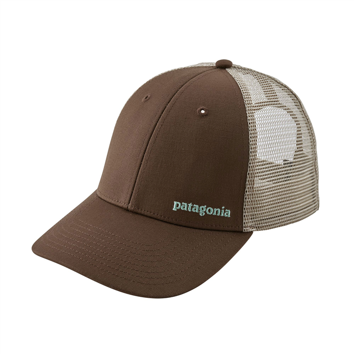 PATAGONIA Small Text Logo LoPro Trucker Hat - TMBR