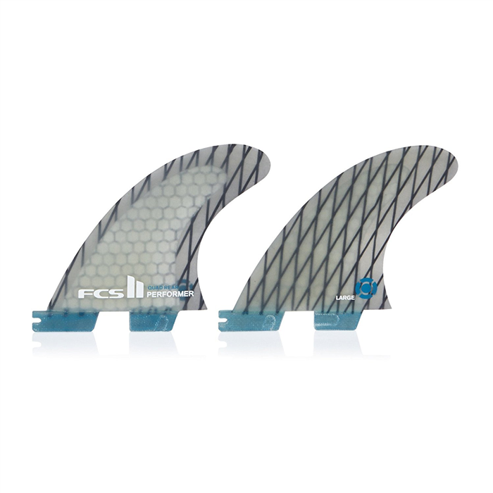 FCS II PERFORMER PC CARBON QUAD REARS (LARGE)