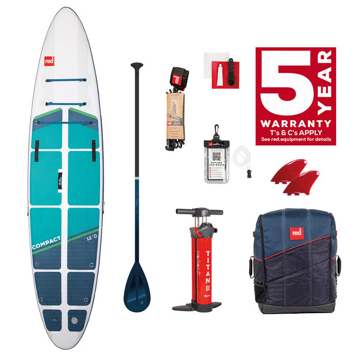 """RED PADDLE CO 12'0"""" COMPACT (2022)"""