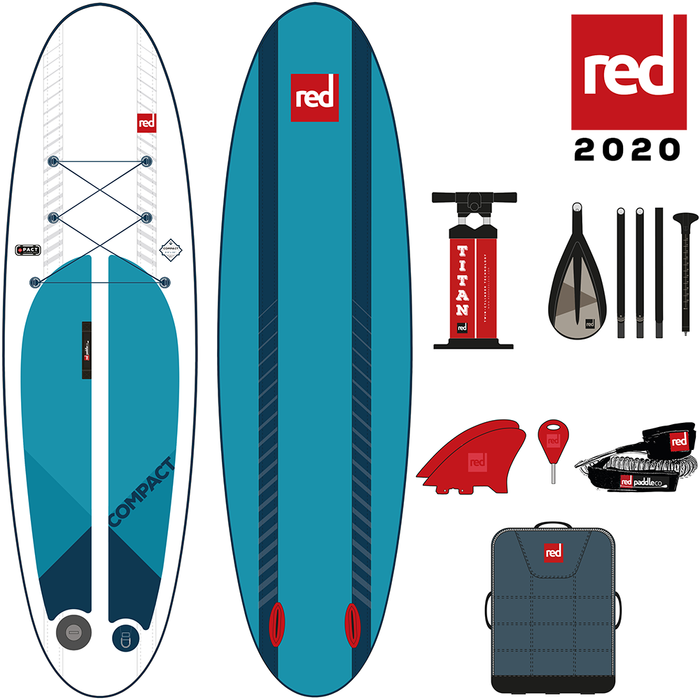 "RED PADDLE CO 9'6"" COMPACT SUP"