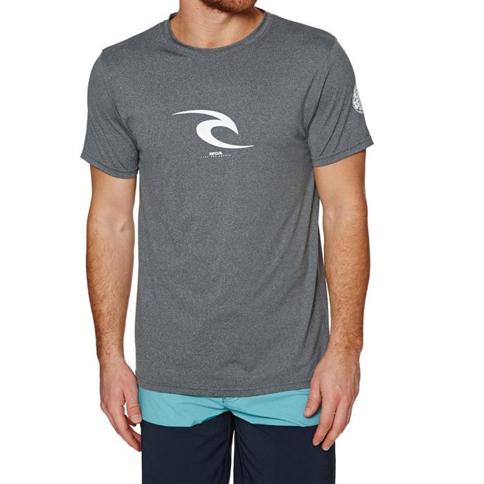RIPCURL Icon Short Sleeve UV Tee (Grey)