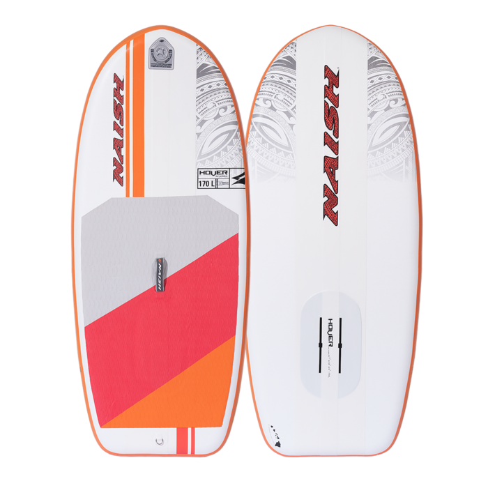 NAISH S25 HOVER WING/SUP INFLATABLE FOIL BOARD