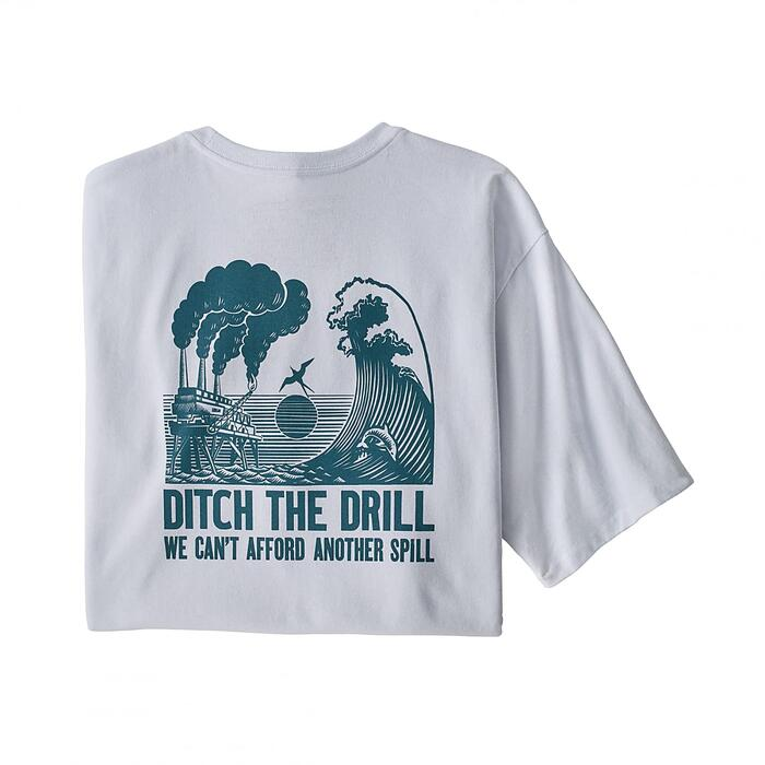 PATAGONIA M'S DITCH THE DRILL RESPONSIBILI-TEE