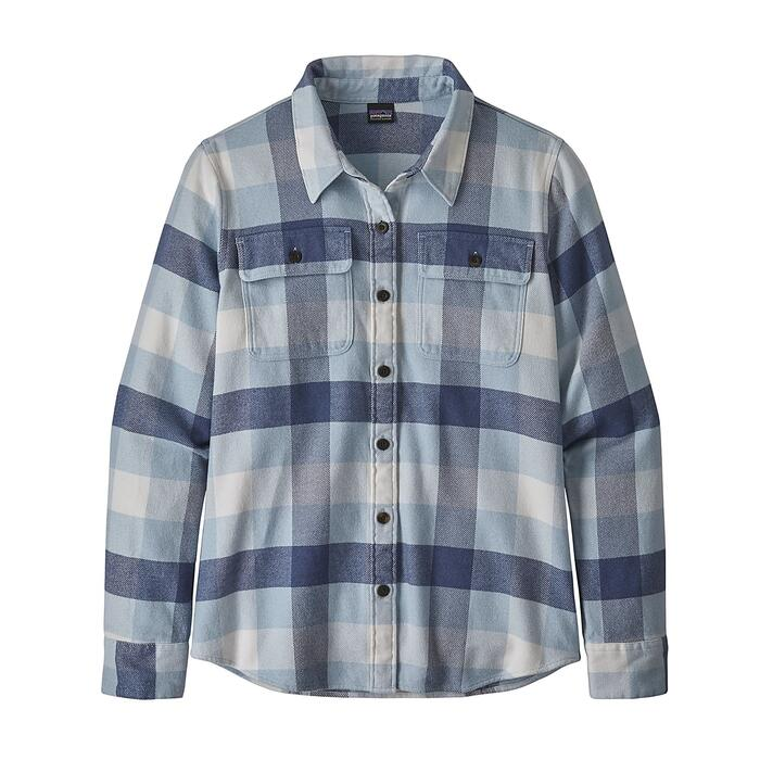 PATAGONIA W'S LONG SLEEVE FJORD FLANNEL SHIRT