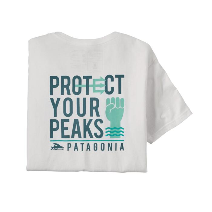 PATAGONIA M'S PROTECT YOUR PEAKS ORGANIC T-SHIRT