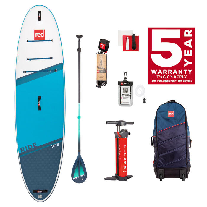 RED PADDLE CO 10'8 RIDE (2022) PACKAGE