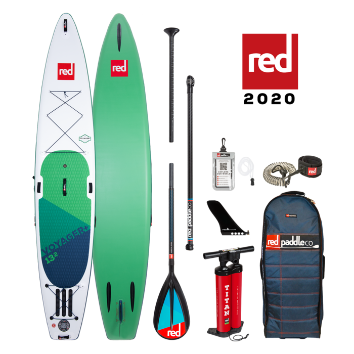 "RED PADDLE CO 13'2"" VOYAGER+ PACKAGE (2020)"