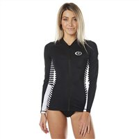 RIPCURL THAT STRIPE WOMENS L/S ZIP THRU