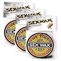 SEX WAX 3 PACK: COCONUT CAR AIR FRESHENER