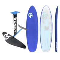 "AGENDA EASY FOIL PACKAGE 6'2"" BOARD, 70CM MAST WING KIT"