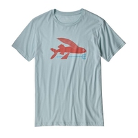PATAGONIA M'S FLYING FISH ORGANIC T-SHIRT