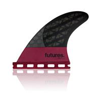 FUTURES F8 BLACKSTIX 3.0 THRUSTER FIN SET