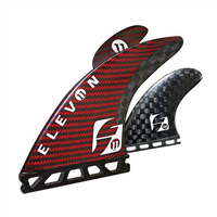 FUTURES ELEVON QUAD FIN SET