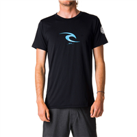 RIPCURL Icon Short Sleeve UV Tee (Black)