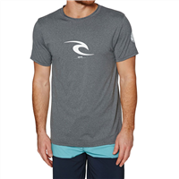 RIPCURL Icon Short Sleeve UV Tee (Grey)