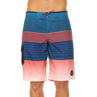 O'NEILL High Punts Boardshort - Red/Navy
