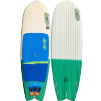 "2nd Hand: Deep Oceanboards MV2 - 7'10"" x 28 3/4"""