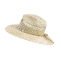 OCEAN & EARTH Ladies Bula Classic Cane Hat