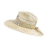 OCEAN & EARTH Ladies Bula Classic Cane Hat