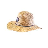 OCEAN & EARTH Men's Woody Raffia Cane Hat
