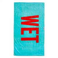 LEUS Beach Towel - Wet